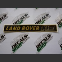 Land Rover 110 Gold Badge Decal