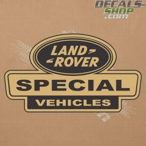 Land Rover Defender Special Vehicle Gold Badge