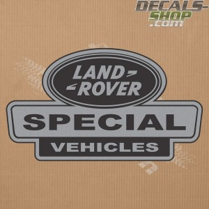 Land Rover Defender Special Vehicle Silver Badge