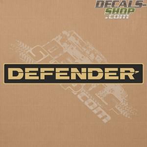 Land Rover Defender 90/110 Gold Front Badge