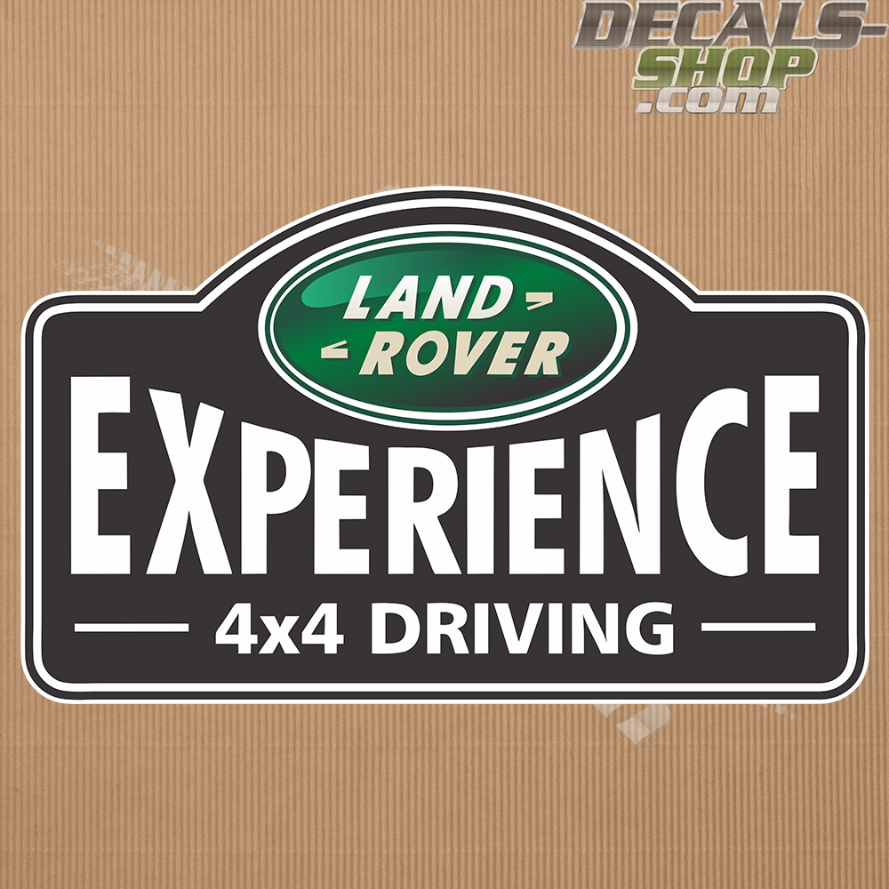 Land Rover Experience 4x4 Badge