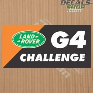 Land Rover G4 Challenge Badge