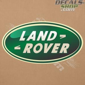 Land Rover New Logo 3D-Print Badge