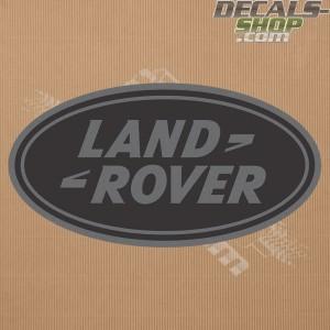 Land Rover New Logo Dark Grey Badge