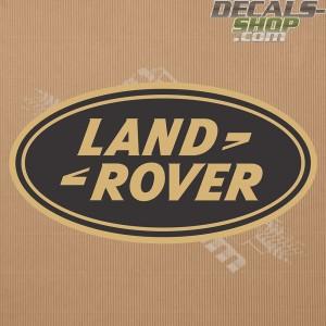 Land Rover New Logo Gold Badge