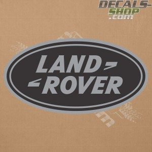 Land Rover New Logo Silver Badge