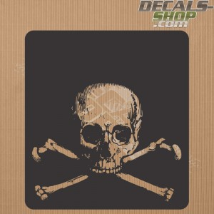 Land Rover Defender 90/110 Skull Bonnet Decal