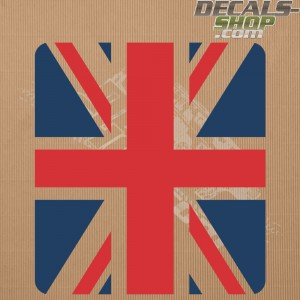 Land Rover Defender 90/110 UK Flag Color Bonnet Decal