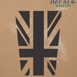 Land Rover Defender 90/110 UK Flag Old Style Bonnet Decal v.01