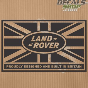 Land Rover Defender 90/110 Union Jack Bonnet Decal