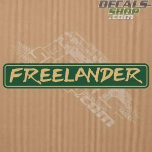 Land Rover Freelander Badge Decal