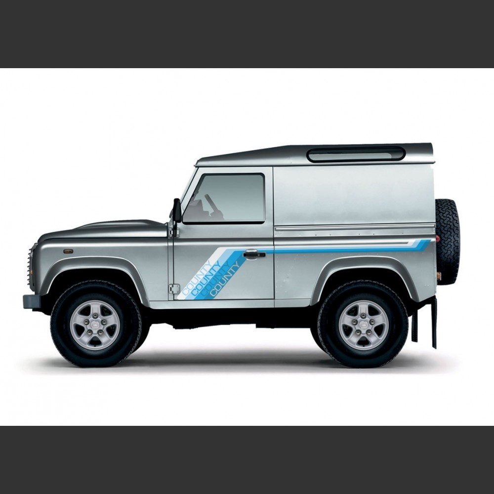 Land Rover Defender 90 County 1988 1990 Gradient Banding