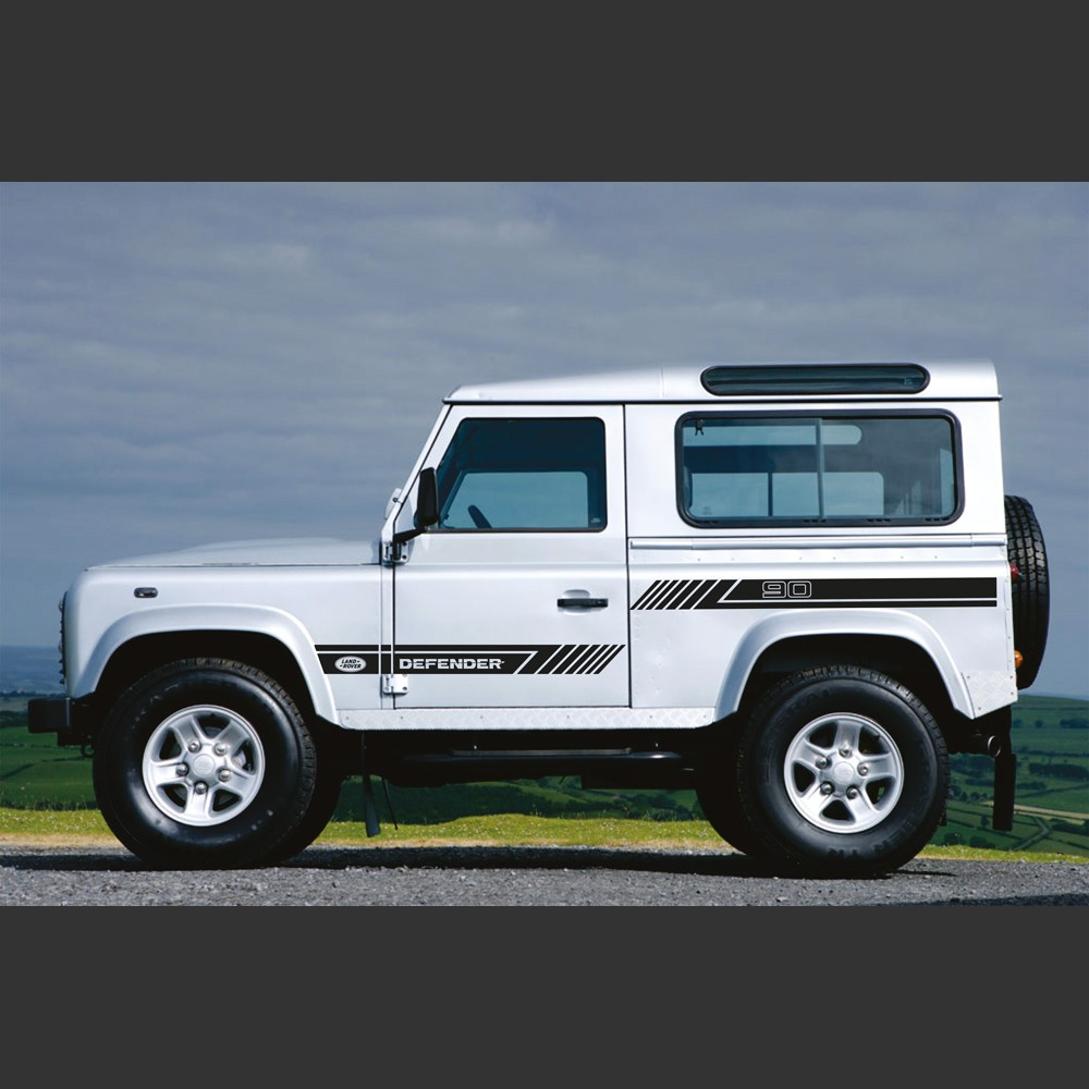 Landrover Discovery Side Stripe Decals Stickers Land Rover: Land Rover Defender 90 Arrow Side Graphics