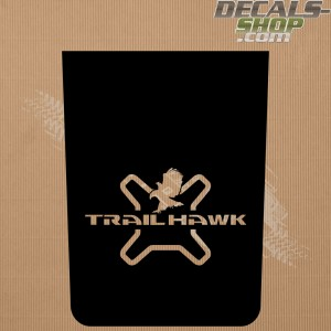 Jeep Renegade Trailhawk Bonnet Decal v.12