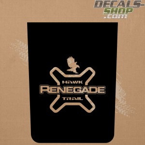 Jeep Renegade Trailhawk Bonnet Decal v.13