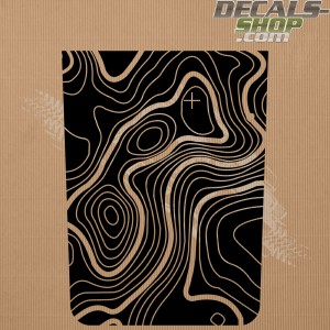 Jeep Renegade Trailhawk Bonnet Decal v.06