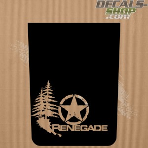 Jeep Renegade Trailhawk Bonnet Decal v.09