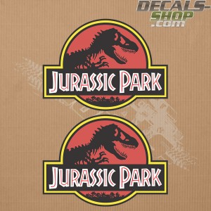 Jeep Wrangler Jurassic Park Door Set Decal
